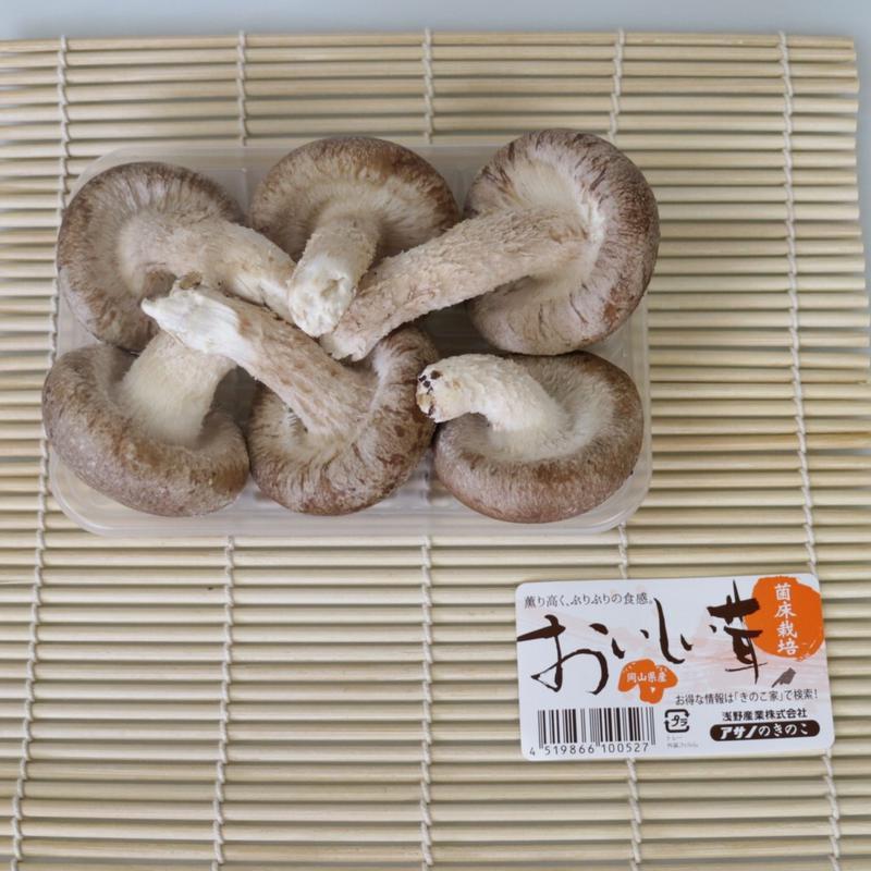 おいしい茸【岡山県産菌床栽培】肉厚6枚入り