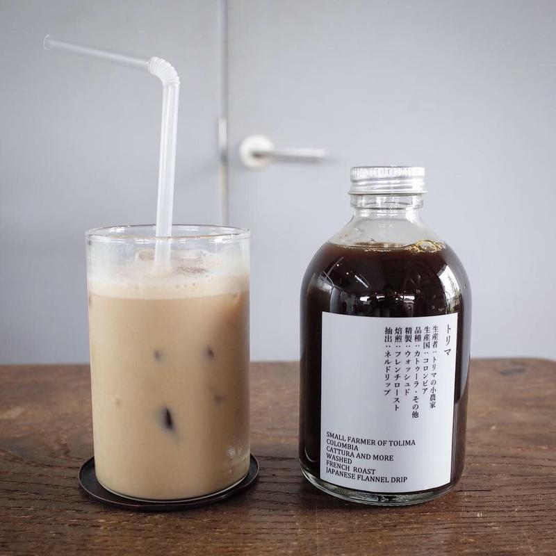 アイスカフェオレベース・加糖<コロンビア/深煎り>250ml
