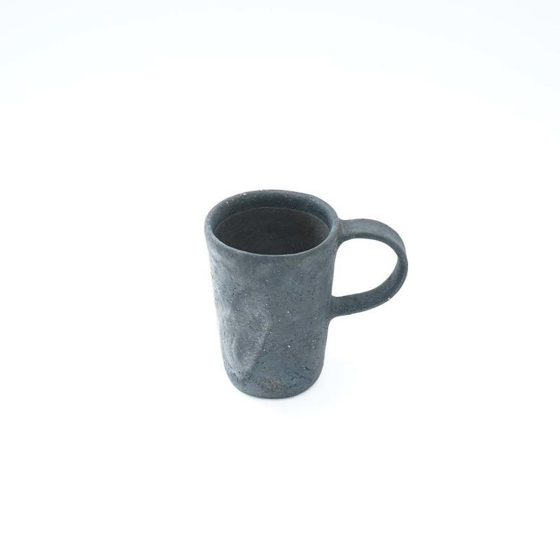 フルカワゲンゴ・黒マグカップ (S)