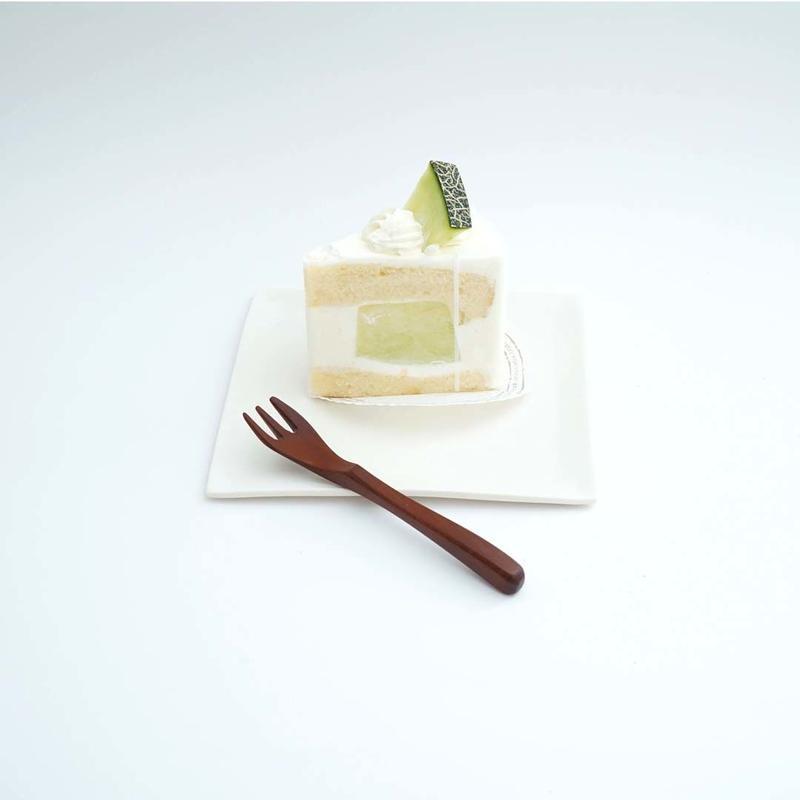 林友加・ケーキ四角皿