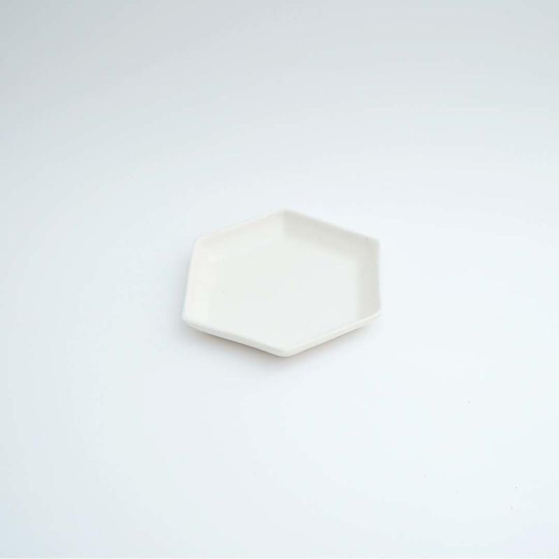 林友加・六角皿