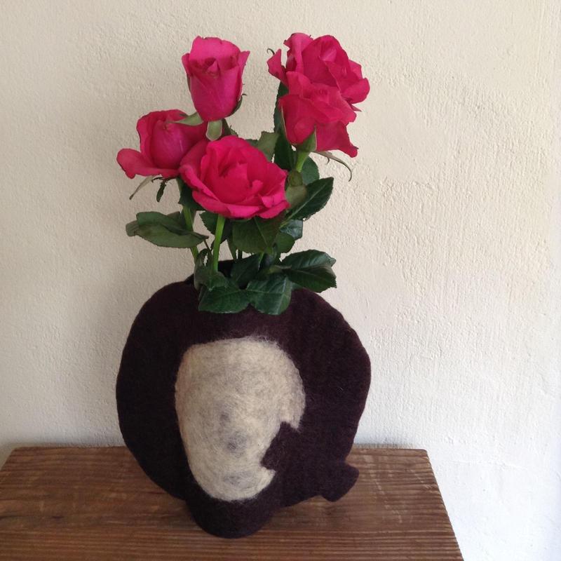 花瓶カバー「Q」