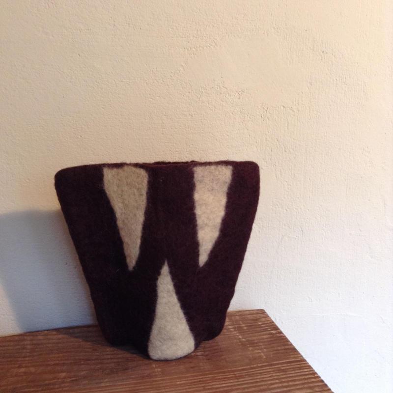 花瓶カバー「W」