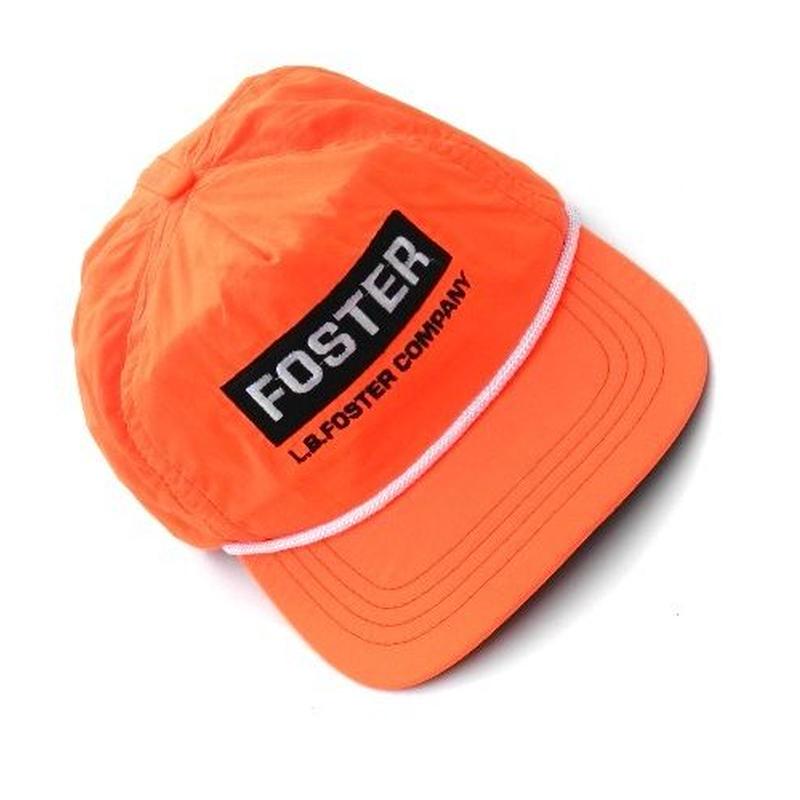 L.B.FOSTER ORANGE CAP  MADE IN USA