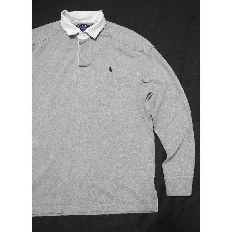 POLO Ralph Lauren L/s Rugger Shirt L