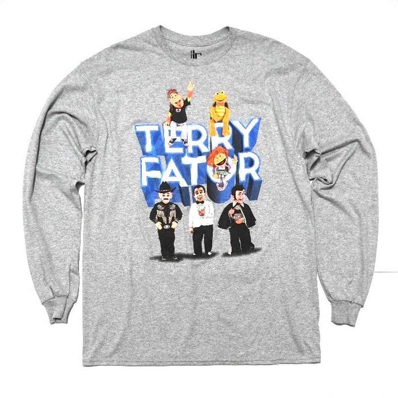 TERRY FATOR  L/s T-SHIRT L