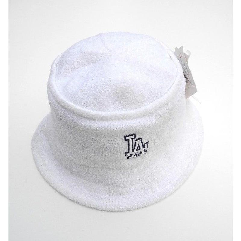 "L.A   White Hat   Pile fabric ""Dead stock"""