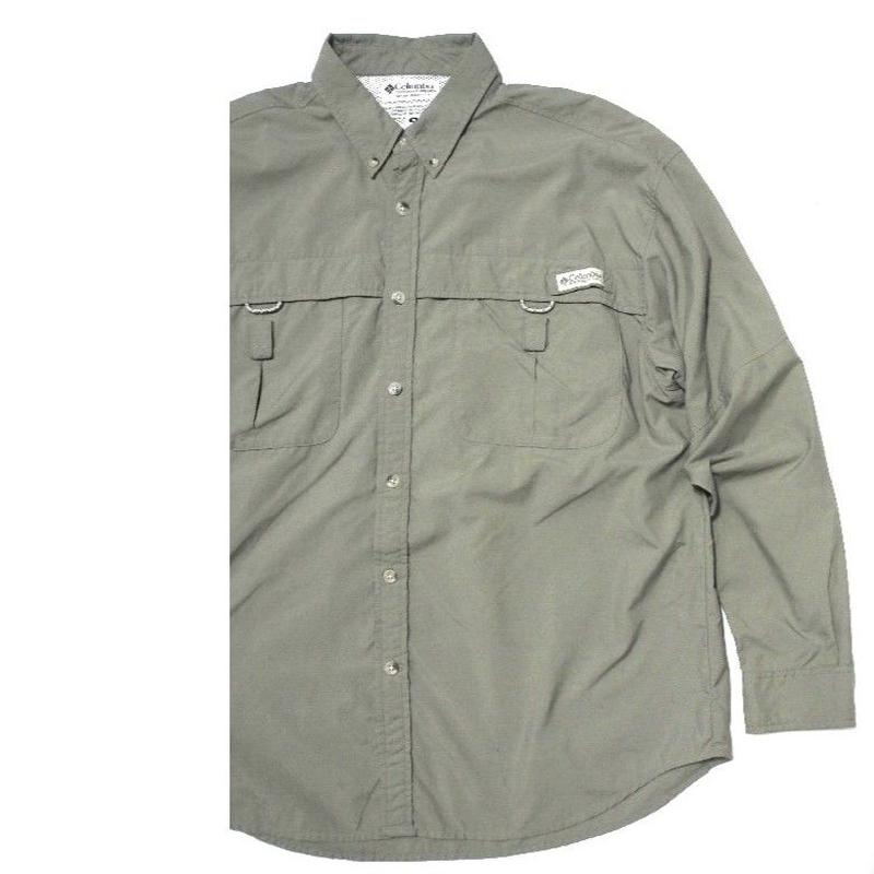 Columbia PFG Fishing shirt M UPF30