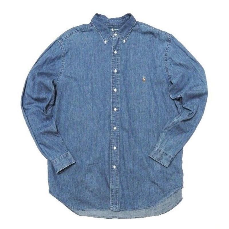 Polo by Ralph Lauren DENIM Shirts XXL TALL