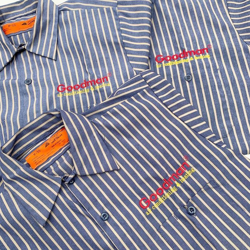 Goodman Work Shirt (REDKAP) size M, L