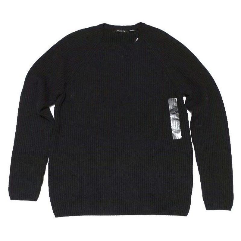 NEW claiborne Black Knit  cotton60% acrylic40% M