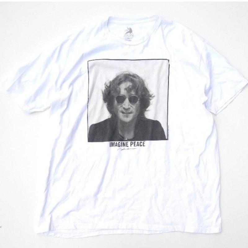 "John Lennon T-shirt ""Photo by Bob gruen"" size XXL"