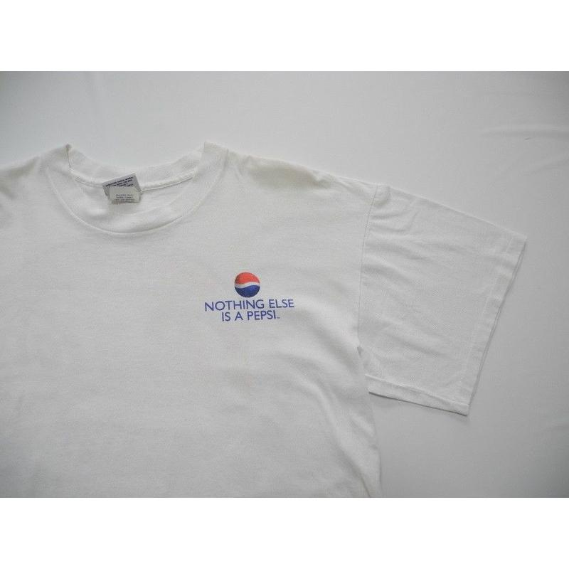 PEPSI-COLA   BIG-LOGO   T-Shirt   MADE IN USA  L