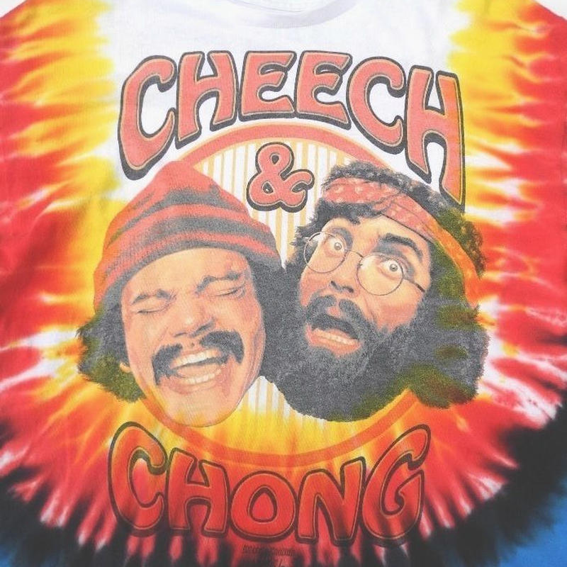 CHEECH&CHONG Up In Smoke T-SHIRT  SIZE-S