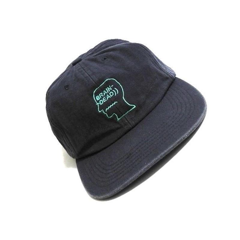 BRAIN DEAD Herringbone  Navy CAP