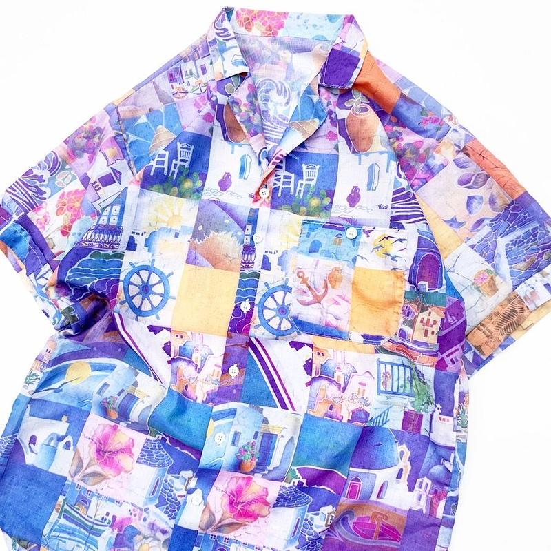 hamdmade short sleeve shirt M程