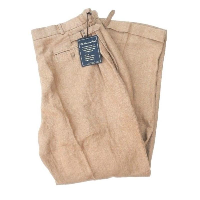 NEW Polo by Ralph Lauren  2Tac LINEN PANTS W40 L30