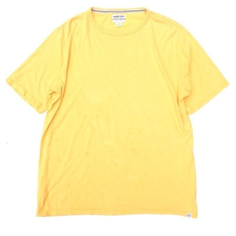 LAND'S END Yello T-SHIRT SIZE-XL  MADE IN USA