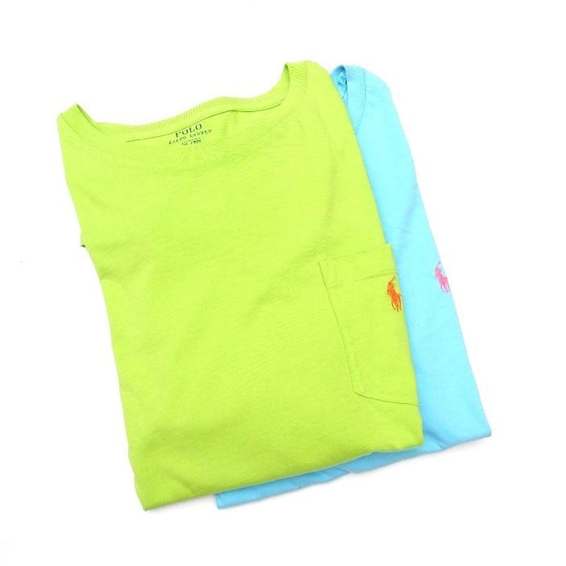 POLO RALPH LAUREN  GREEN-XL BLUE-XXL