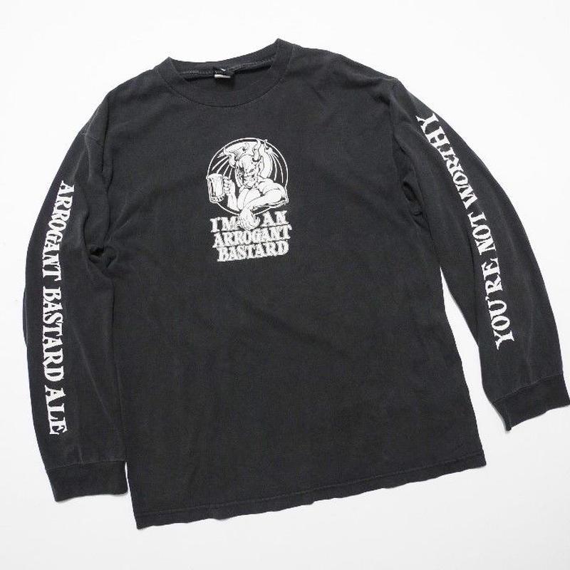 Arrogant Bastard Ale L/s Tshirt L