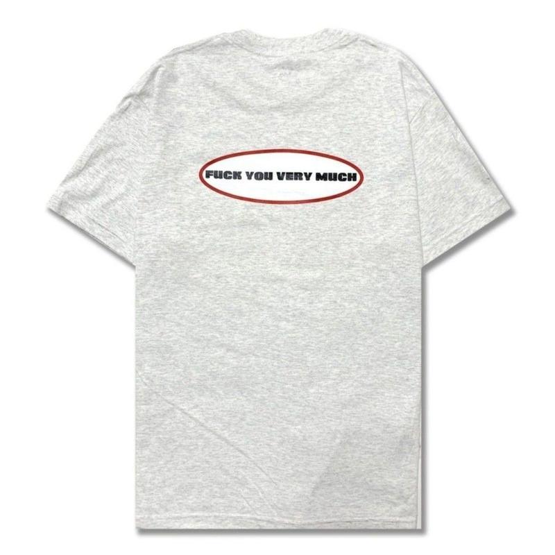Oval  Logo  S/S  Tee <Ash Gray>
