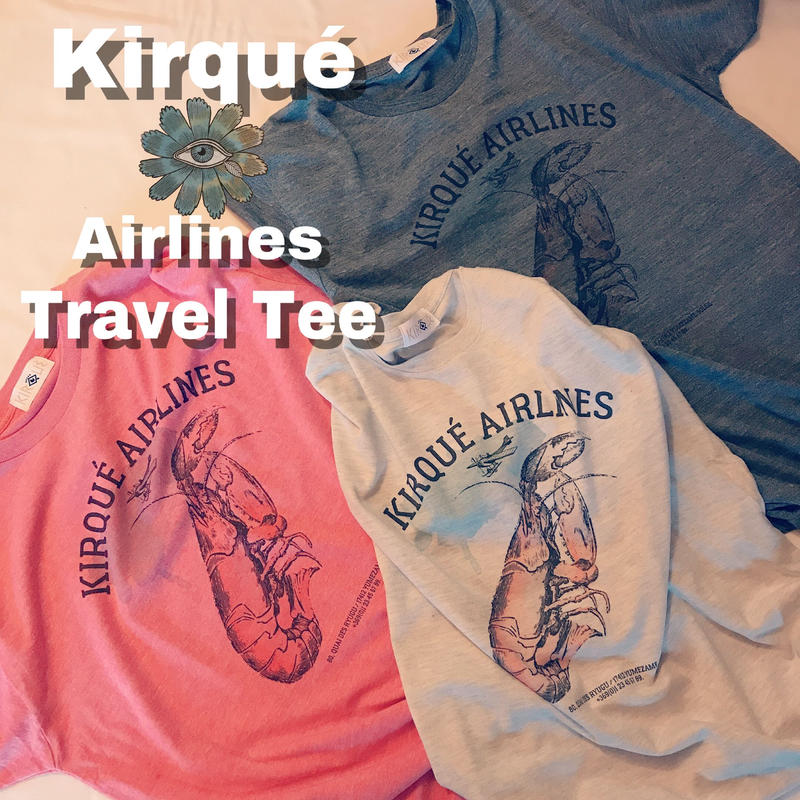 Kirqué Airlines Travel Tee