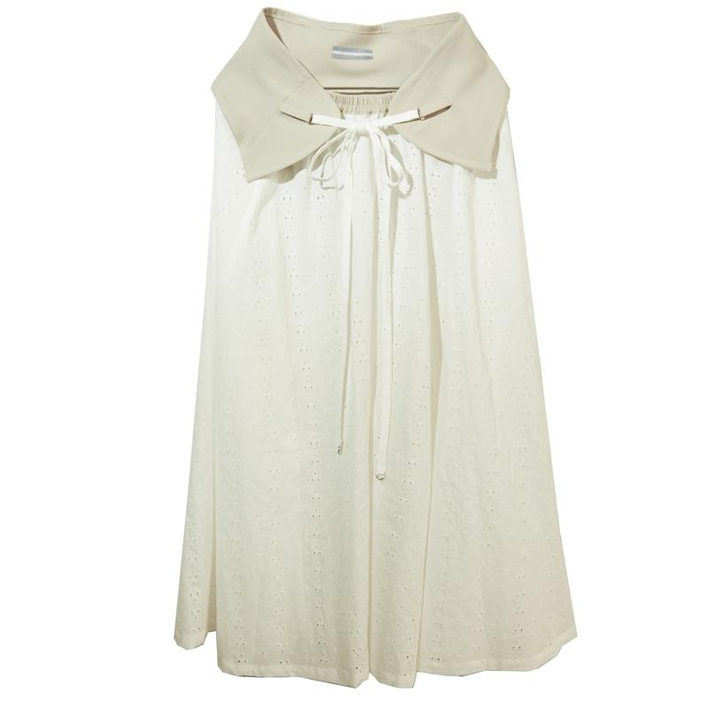 back less skirt (beige)