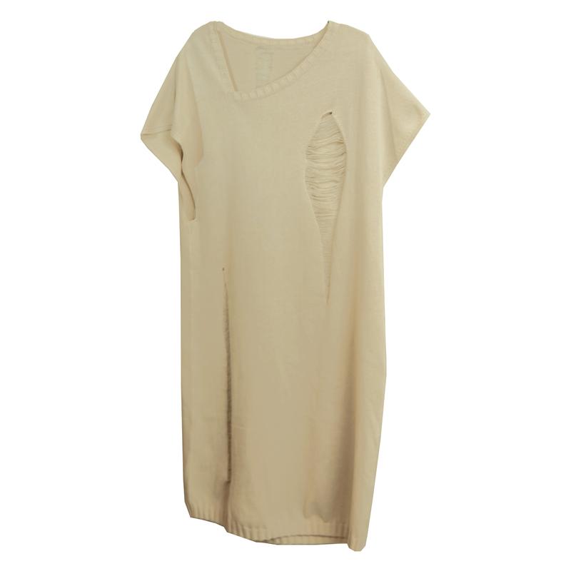 knit dress (beige)