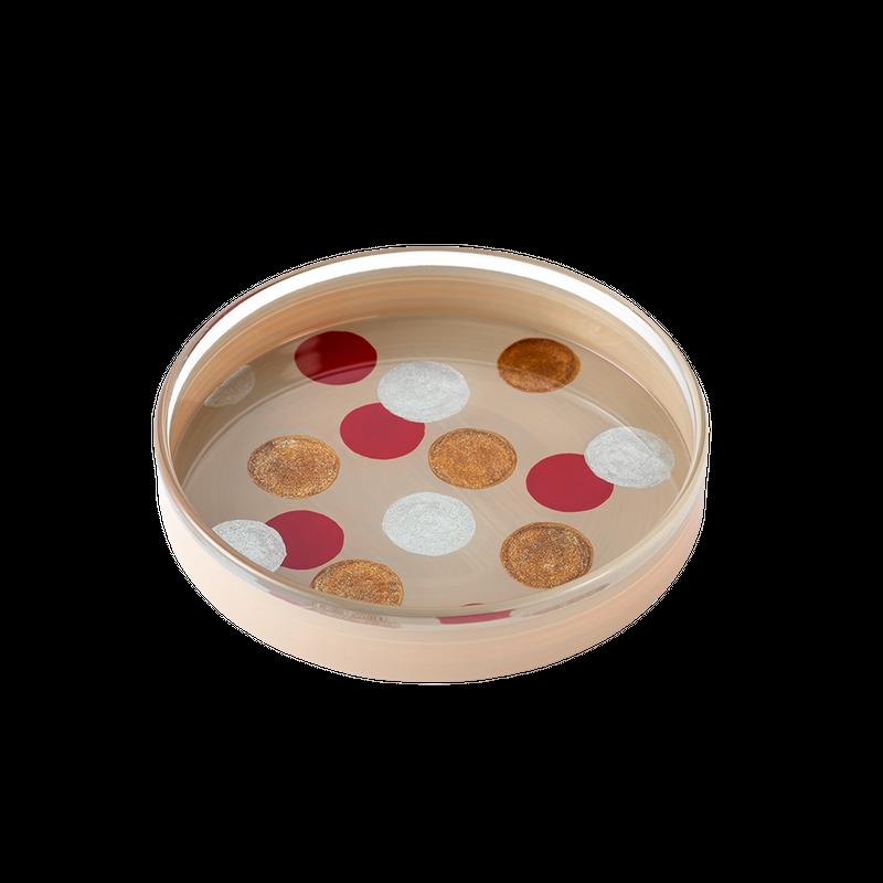 【受注生産】洒落(schale)豆平皿 白・中丸