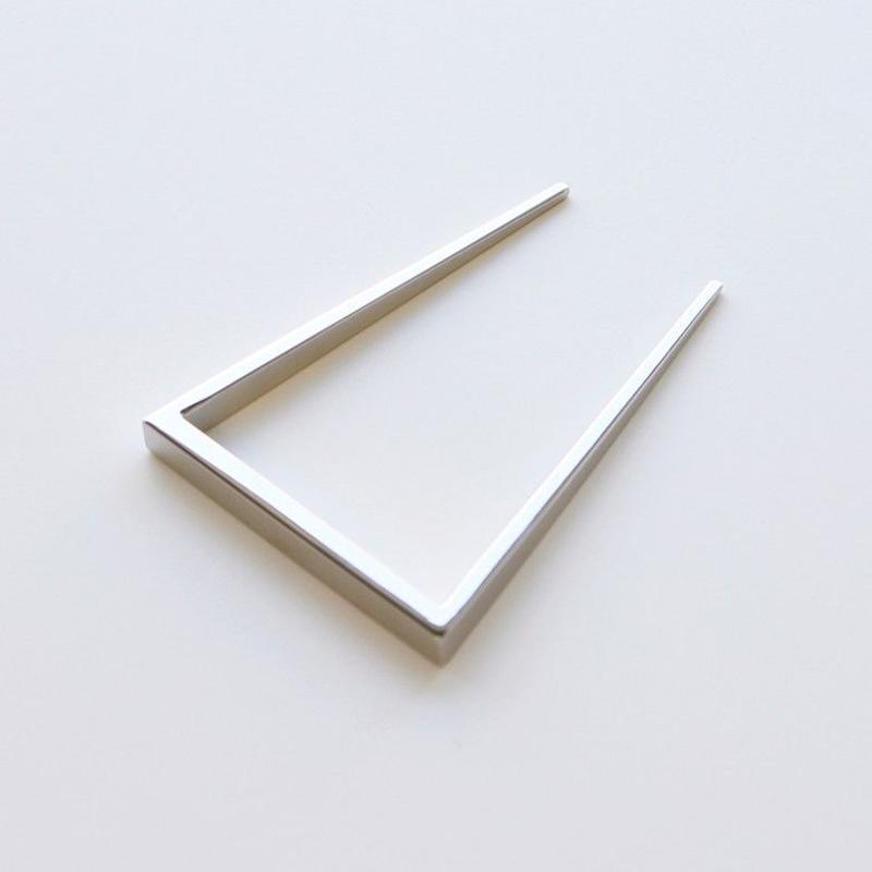 square comb / silver