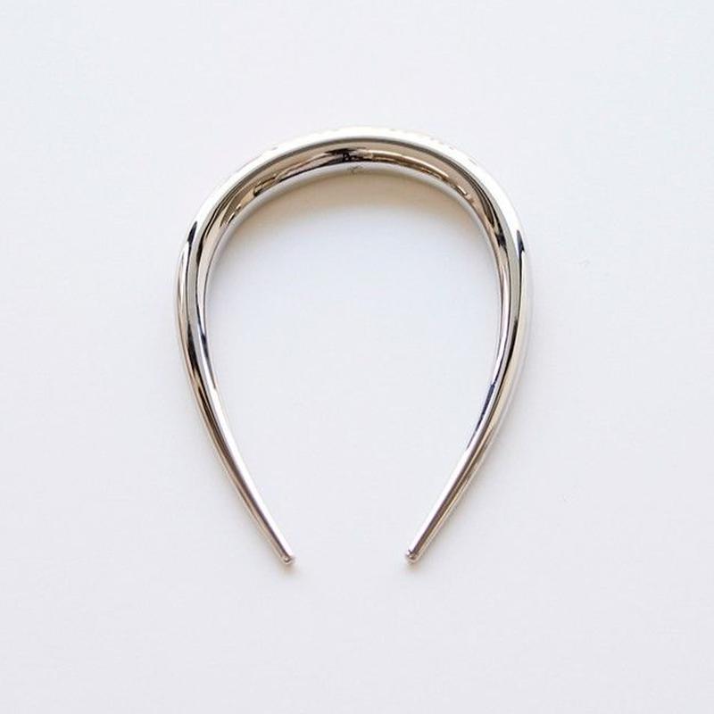 round comb / silver