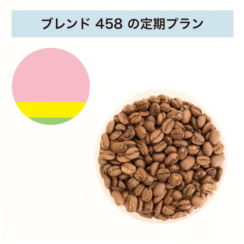 フィットするコーヒーNo.458の定期プラン