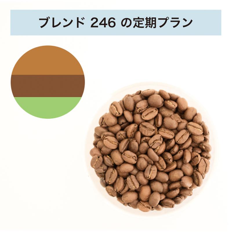 フィットするコーヒーNo.246の定期プラン