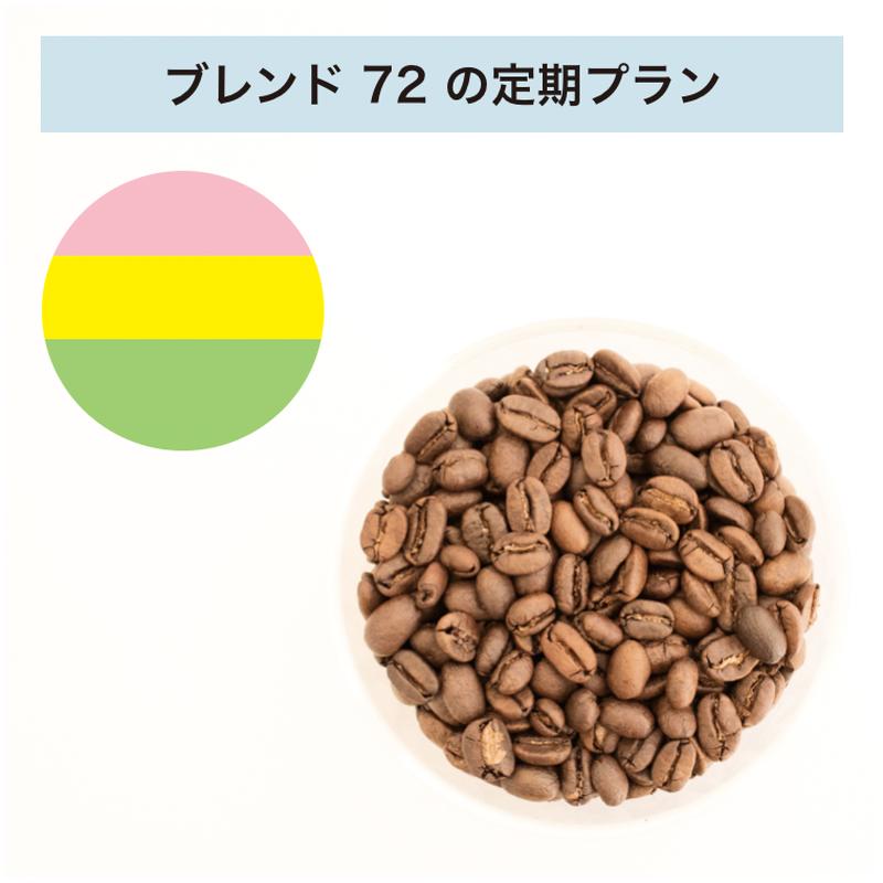 フィットするコーヒーNo.72の定期プラン