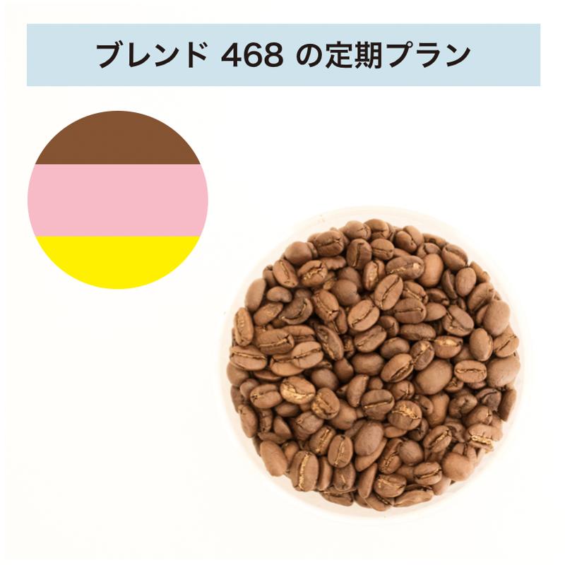 フィットするコーヒーNo.468の定期プラン