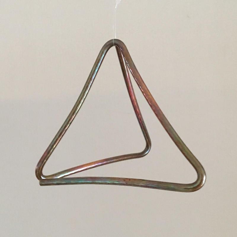 "Tetrahedr-angle  ""Ellie"" 15cm  x 7mm"