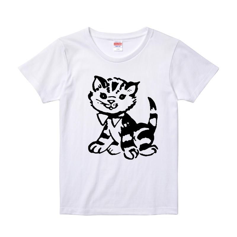 【KiTtee/キティー】5.6オンス Tシャツ/WH/LT-011