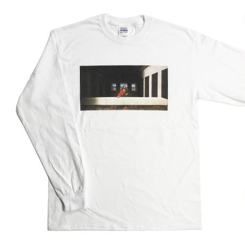 Waiting For Last Supper_Long Sleeve / White
