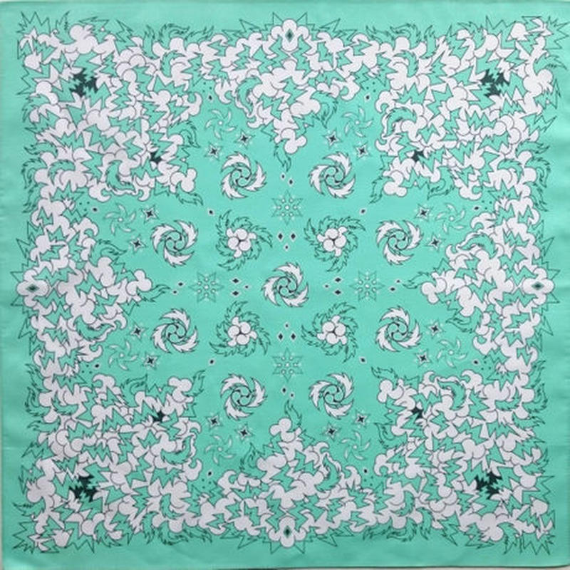 KIZM Happy Bandana_Mint Green