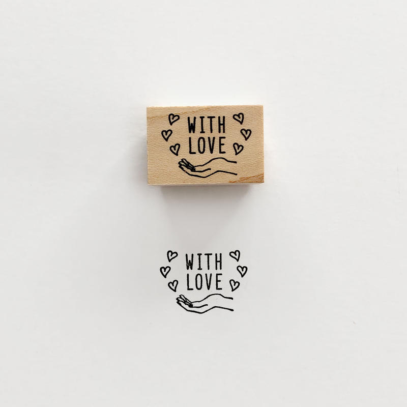 〈WITH LOVE〉スタンプ