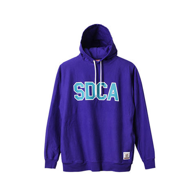 SD US Cotton Pullover Hood Sweat with Logo