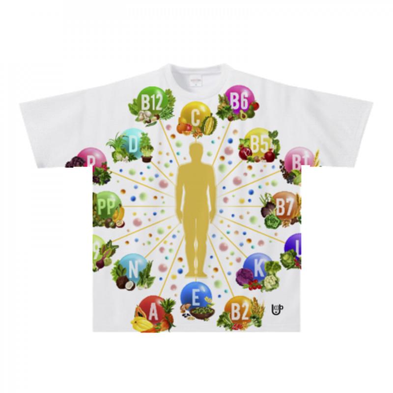 栄養Tシャツ600a