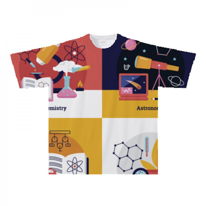 科学Tシャツ300a