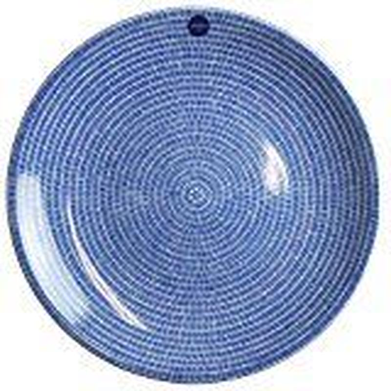 アラビア ARABIA アベック 26cmプレート    ブルー