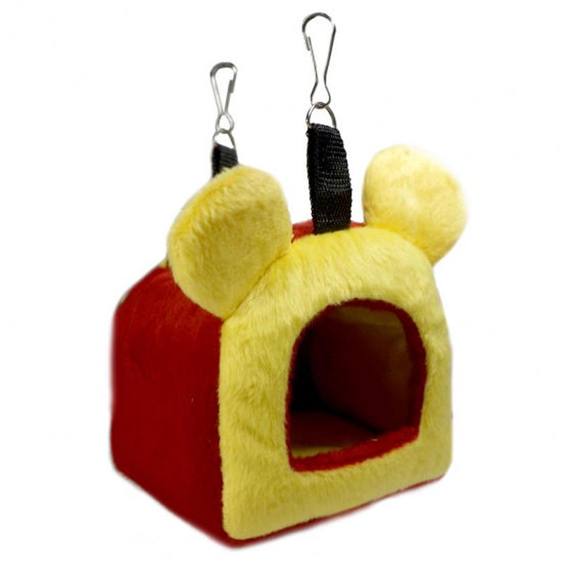 🐻耳付きハウス 黄赤クマさん🐻