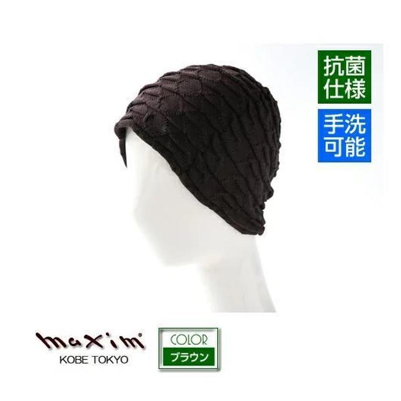 療養ケア/シルクケアニット【ホールガーメント】0-13-04 ブラウン