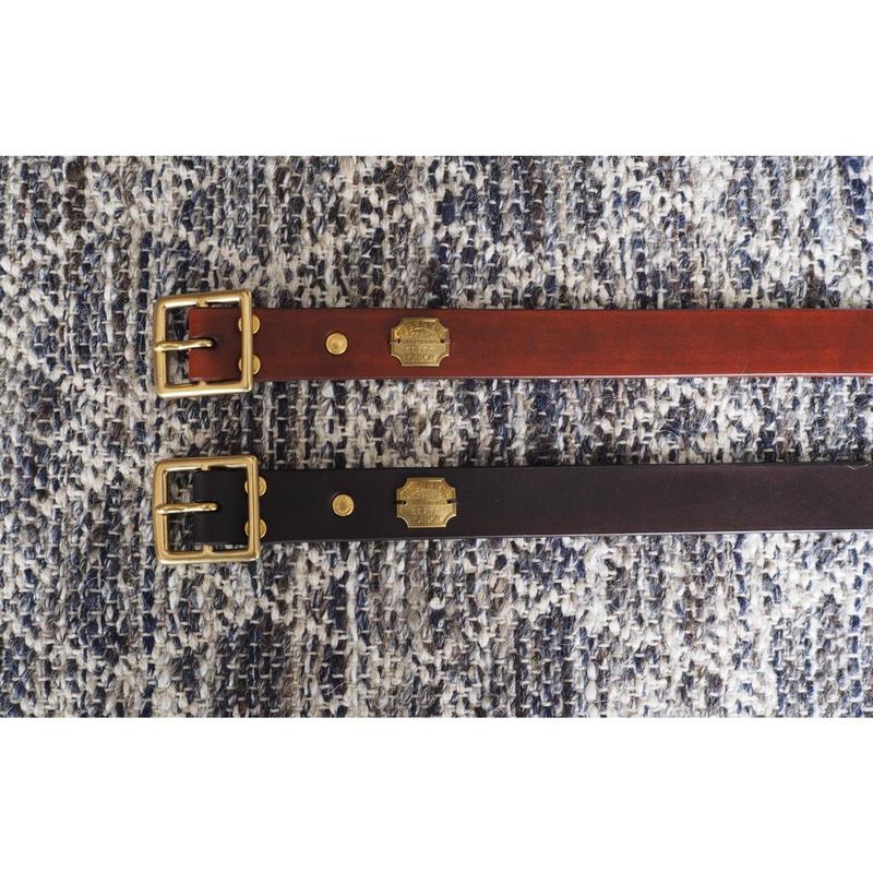THE SUPERIOR LABOR / hand dye standard belt