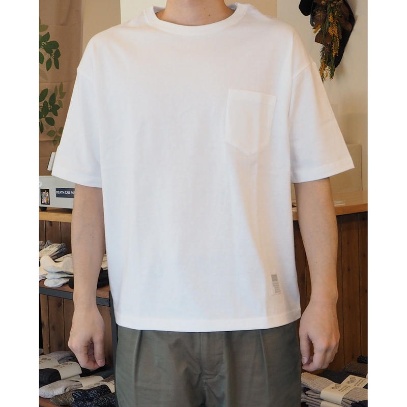 OUTPUT Originals / Big Silhouette Pocket T-Shirt