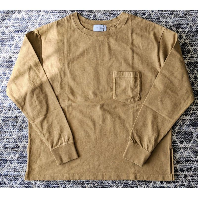 FEW FABRICS / SUPER WEIGHT DRY WIDE L/S TEE