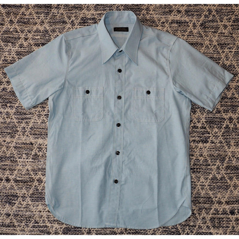 MULLER & BROS. / work shirts S/S